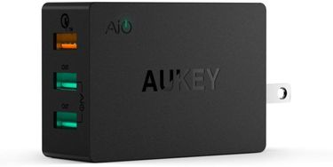 Aukey PA-T2 (42W) 3-Port USB Wall Charger