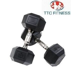 TTC Fitness Hexagonal Dumbbell (Premium) 2Kg