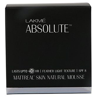 Lakme  Absolute Mattreal Skin Natural Mousse Foundation (Ivory Fair 01)