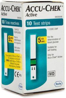 Accu-Chek Active 10 Strips
