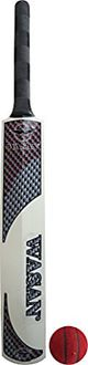 Wasan Popular Willow Cricket Bat (Size 3 with Ball)