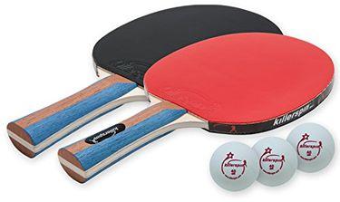 Killerspin JET Set 2-Premium Table Tennis Paddle Set (with Balls)