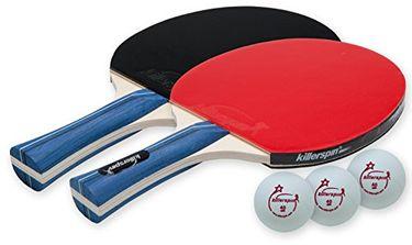 Killerspin Jet Set Table Tennis Racket Set (Pack Of 2)