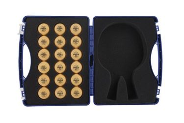 Joola Table Tennis Tour Case Set (with 18 40mm 3 Star Balls)