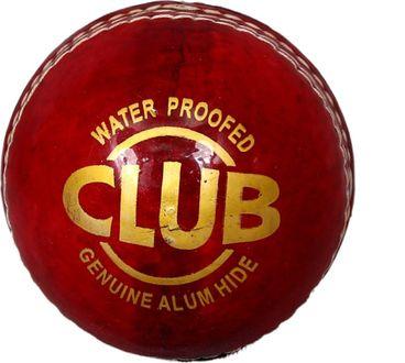 Priya Sports Club Red Leather Cricket Ball