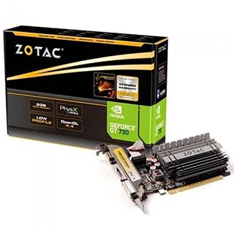 Zotac NVIDIA Geforce GT 730 2GB DDR3 Graphic Card