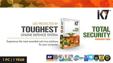 K7 Total Security 2014 1 Pc 1 Year Renewal Activation Key