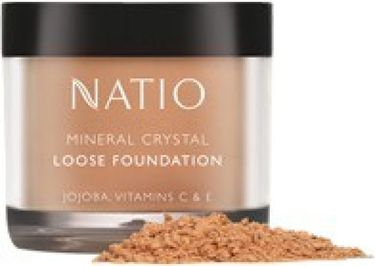 Natio Mineral Crystal Loose Foundation (Sand)