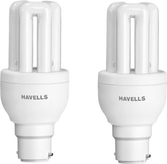 Havells B22 8W CFL Bulb (Cool Day Light, Pack of 2)