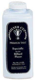 Silver Cup Billiards Talc Hand Powder Chalk (13 oz)