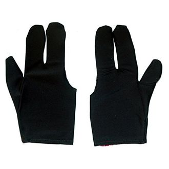 SPORTS HOUR Men's Nylon Pool Gloves (Large)