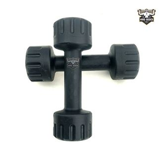 Hard Bodies Club PVC Dumbbells 1Kg (Pack of 2)