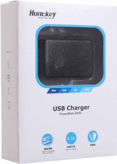 HuntKey 2.1A Dual USB Charger