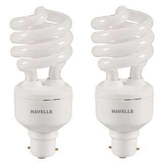 Havells T3 23W CFL Bulb (Warm White and Pack of 2)