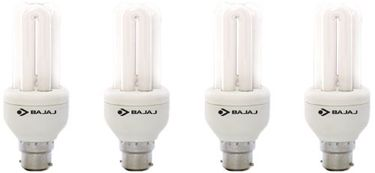Bajaj Ecolux 2U CDL 11W CFL Bulb (Cool Day Light, Pack of 4)