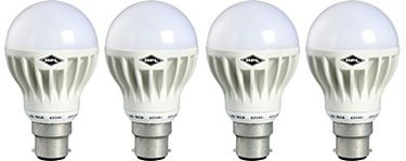 HPL B22 12W LED Bulb (White, Pack of 4)