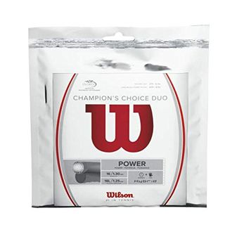 Wilson Champion's Choice Hybrid Tennis String (6.1 mm)