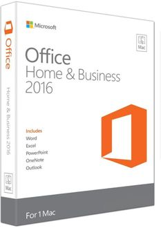 Microsoft Office Home & Business 2016 1Pc Life Time (for Mac)