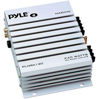 Pyle PLMRA120 2 Channel Waterproof Marine Amplifier