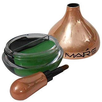 Mars Gel 2in1 Eye Liner Glamup Look Variant Selection MMHO (Black , Green)