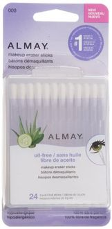Almay Oil-Free Makeup Eraser Sticks 24 Count (Set of 2)