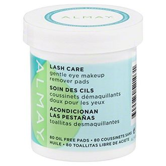 Almay Lash Care Gentle Eye Makeup Remover Pad (80 count)