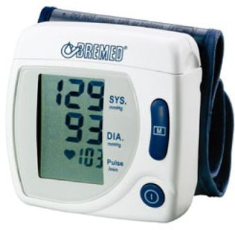 Bremed BD 555 Wrist Bp Monitor