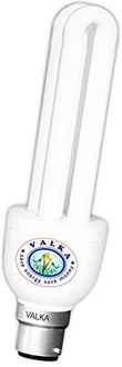 Valka 15W 2U CFL Bulbs (White,Pack of 6)