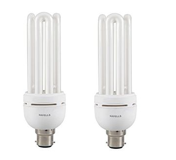 Havells Spiral 35 Watt CFL Bulb (Cool Day Light,Pack of 2)