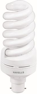 Havells Spiral 85 Watt CFL Bulb (Cool Day Light,Pack of 2)