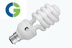 Crompton Greaves Direct Fit 25 Watt CFL Bulb (Cool White,Set of 2)