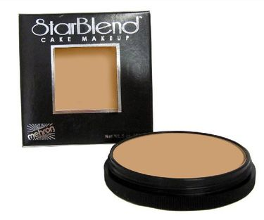 Mehron Star Blend Cake Foundation Makeup (Neutral Buff)