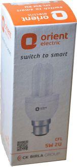 Orient 5 Watt CFL Bulb (White)