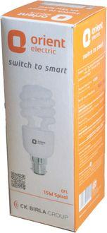 Orient Spiral 15 Watt CFL Bulb (White)