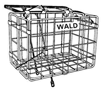Wald Folding Bicycle Basket