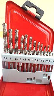 Jon Bhandari HSS Drill Bit Set (13 Pc)