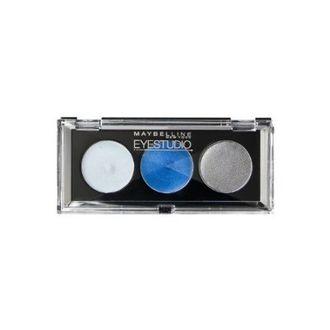 Maybelline Eyestudio Trio Cream Eye Shadow (10 Blue Freeze)