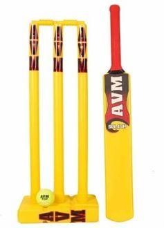 Avm Splash Plastic Cricket Kit (Size 5)