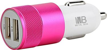 Metal Box MBCC25 2.1A Dual USB Car Charger