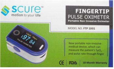 Scure FTP-1001 Fingertip Pulse Oximeter