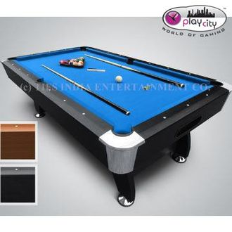 Play City Pool Table Imported American Style Billiard (8 Feet)