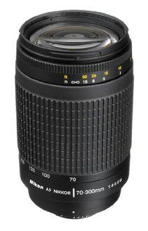 Nikon AF Zoom-Nikkor 70-300mm f/4-5.6G (4.3x) Lens