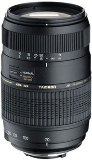Tamron AF 70-300mm F/4-5.6 Di LD Macro Lens (for Sony DSLR)