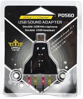 ROQ Virtual 7.1 Channel USB Sound Adapter