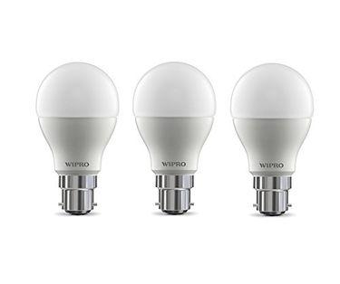 Wipro Garnet 9w 6500k White Led Bulb (Pack of 3)