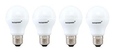 Instapower 7W E27 Cool Day Light LED Bulb (Pack of 4)