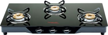 Hindware Armo GL 3 Burner Auto Ignition Gas Cooktop