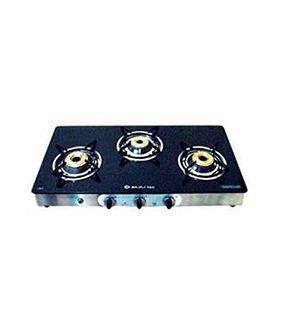 Bajaj Majesty CGX-SS 3 Burner Gas cooktop