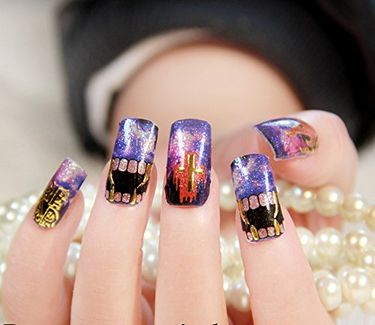 Ruby Nail Art Stickers-05