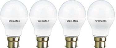 Crompton 5WDF B22 5-Watt LED Lamp (Cool Day Light, Pack of 4)
